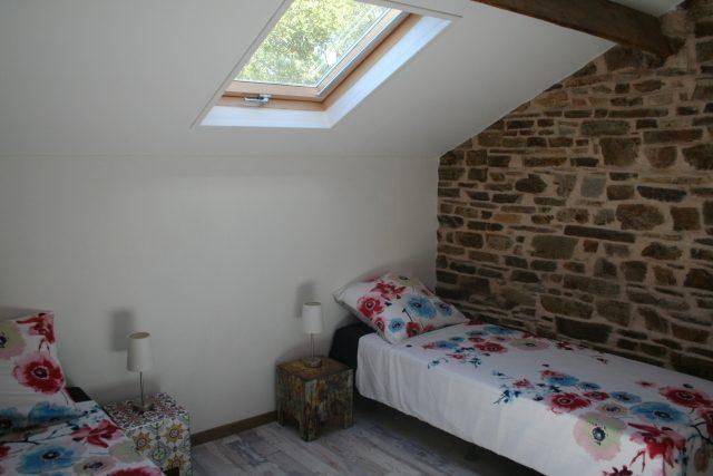 slaapkamer gîte la Marmite
