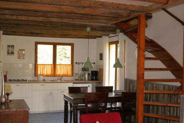 cuisine gite Porcherie , Liabaquet, gîtes et camping, Sarlande, Dordogne, France