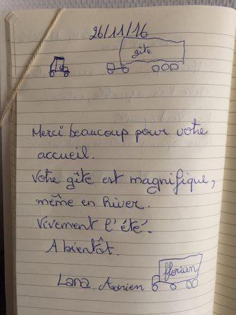 évaluation automne 2016 gîte la Marmite, liabaquet gîtes et camping, 24270 Sarlande, Frankrijk, Dordogne, pour les petits enfants