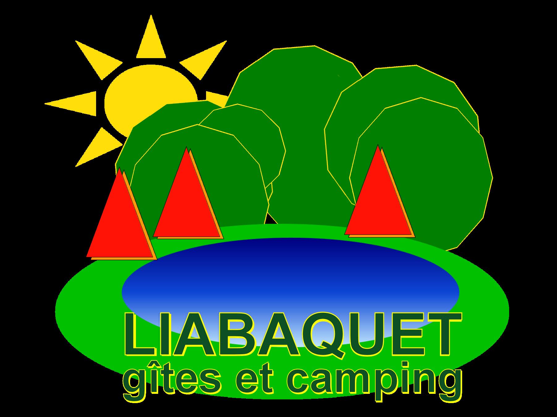 logo contact Liabaquet gîtes et camping, vakantiehuisje Sarlande, dordogne, Frankrijk