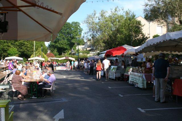 zomerse avondmarkt