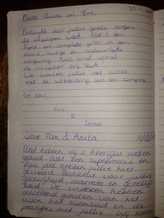 ervaringen vakantiehuisje Dordogne nederlands sprekende eigenaren